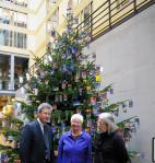 Eugen Daub mit Vizepräsidentin des Deutschen Bundestages Gerda Hasselfeldt und MdB Klaus P. Flosbach